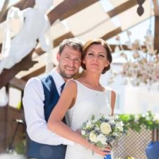 Destination wedding of Marcia and Paul in the Algarve Portugal
